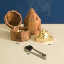Wooden Incense-Burner