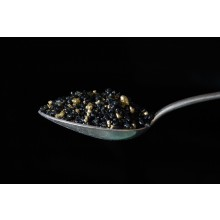 BLACK and GOLD coloured incense 400 g.